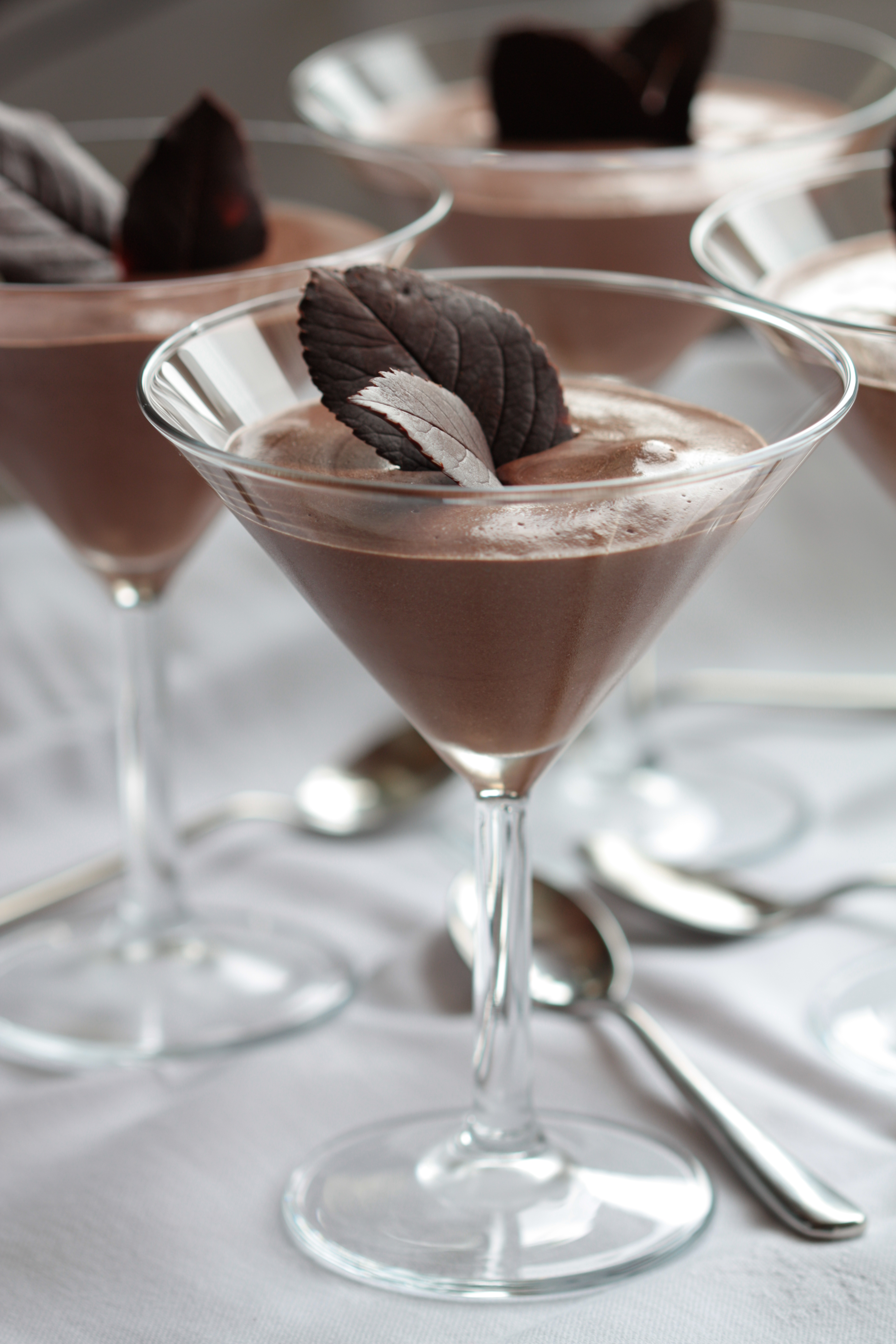 dairy free chocolate mousse