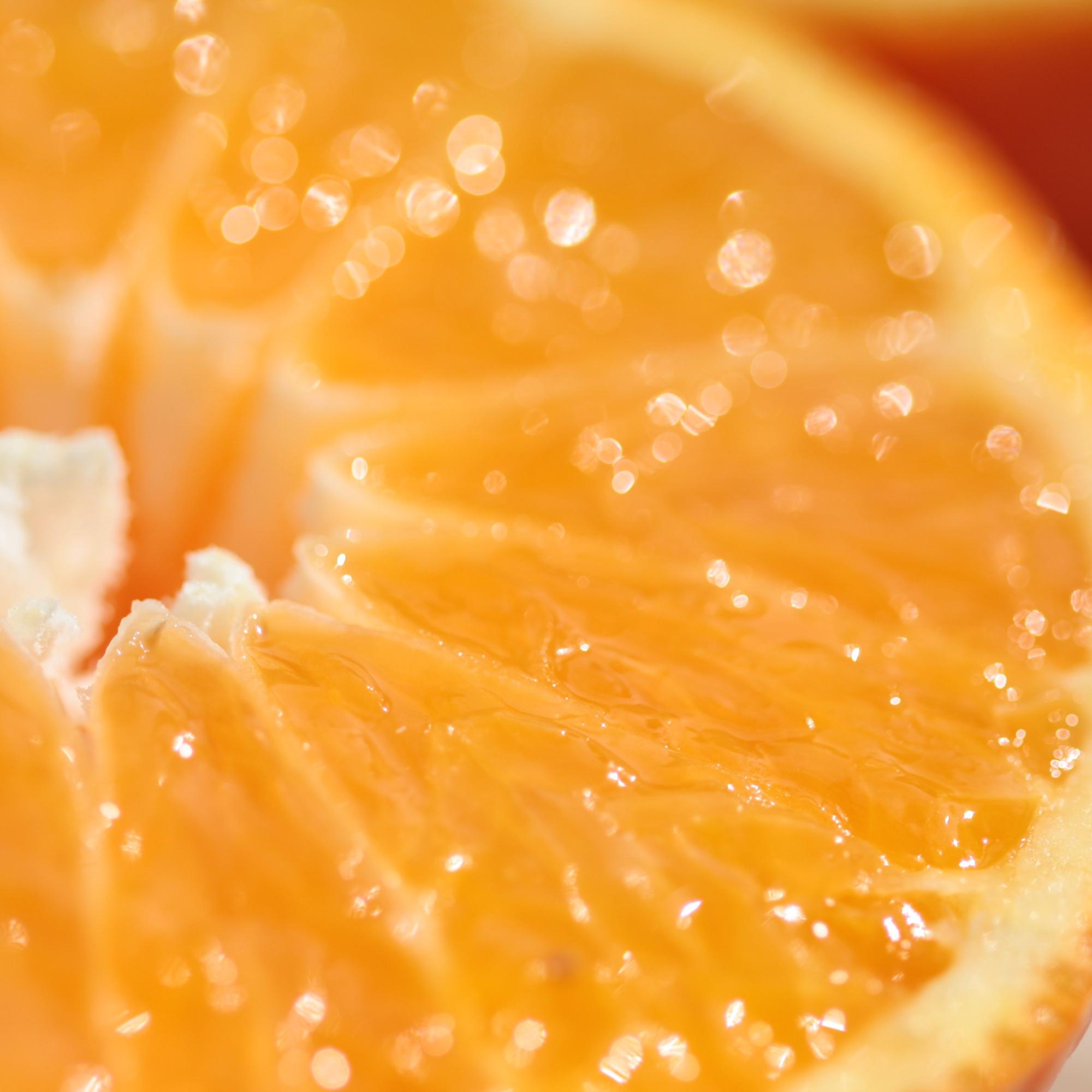 Sparkly Orange